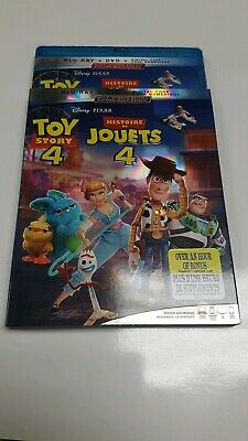 Toy story 4 Bluray Dvd Digital