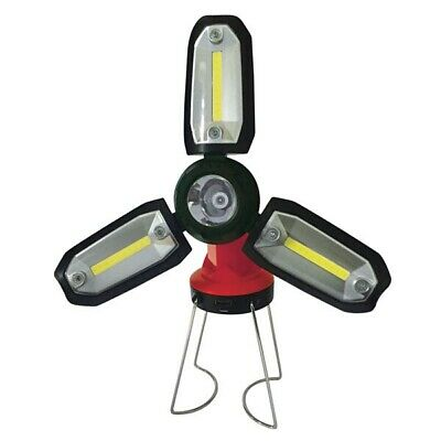 Streetwize SWLR27 Rechargeable Work Light Torch 3W COB LED Spotlight Magnets