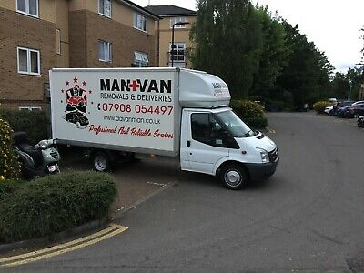 Man and Van Removal Services London. Collection and Delivery Nationwide.