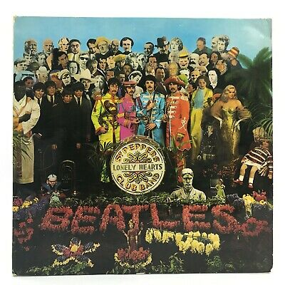 SGT PEPPERS LONELY HEARTS CLUB BAND The Beatles Record Album Vinyl 1967 TH412009