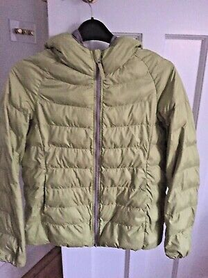 Uniqlo Jacket Age 11 Years Green Olive with the hood