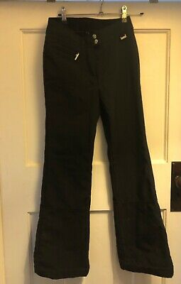 Girls Poivre Blanc Black Stretch Ski Trousers 12 Years RRP £158.