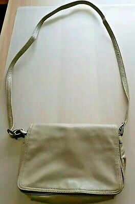 Ladies Tula Bags Of London Beige Leather Soft Bag
