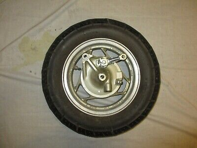 Yamaha Xc180 Xc200 Riva Front Wheel W/ Perfect Tire & Complete Brake System