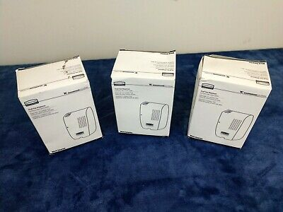 LOT OF 3 Rubbermaid Tcell Fan Dispenser (1793544) White Oder Control System