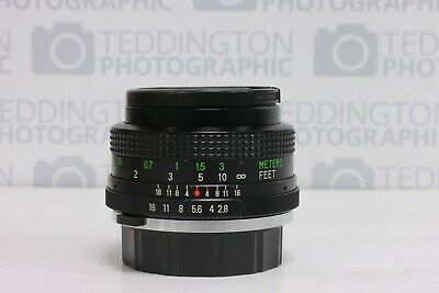 Vivitar 28mm f2.8 Close Focus Wide Angle Olympus OM Fit