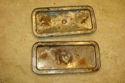 1941 Ford 9n Tractor Side Inspection Plates 8n 2n