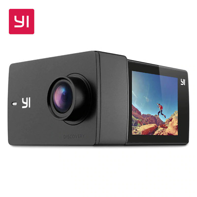 YI Action Camera 4K Sports Ultra Wide Angle Touchscreen Built-in Wi-Fi