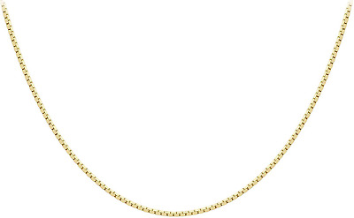 Carissima Gold 9ct Yellow Gold Lion King Pendant on Box Chain Necklace of 46c...
