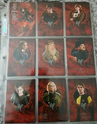 Harry Potter And The Goblet Of Fire Trading Cards