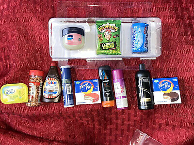 Zuru 5 Surprise Mini Brands Lot of 12-Display Pieces From Retail Case & More