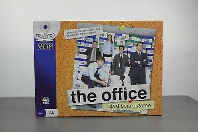 The Office  Board Game DVD Trivia Dunder Mifflin NBC Pressman 2008 complete