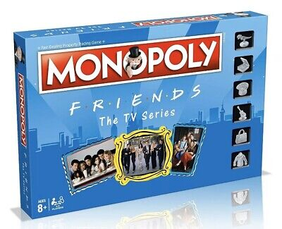 FRIENDS TV SHOW MONOPOLY Board & Card Game by Winning Moves Family Fun Gift