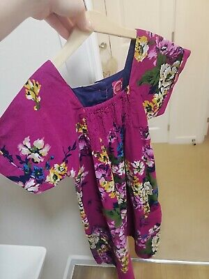 Great Girls Floral Joules Dress, Age 11/12 Years!!