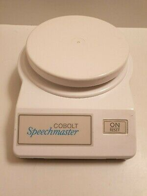 Cobalt Speechmaster Talking Kitchen weighing Scales Grams/Ounce Visually impared