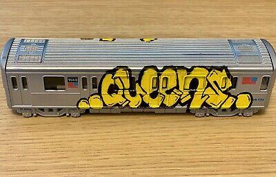 "Queens NYC Urban Art 7"" MTA Train Graffiti"
