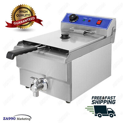 Commercial 3000W Electric 10L Deep Fryer French Chicken Fried Potato Chips