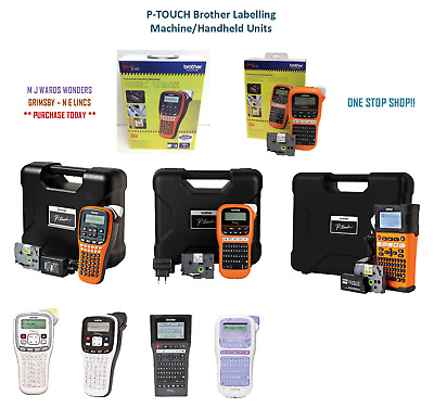 P-TOUCH Brother Labelling Machine/Handheld Units