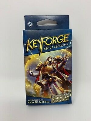 Keyforge Age of Ascension Deck - NEW-Factory Sealed  Richard Garfield