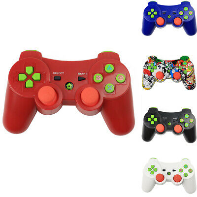 Bluetooth Wireless Game Controller Joystick Gamepad for PS3 Video Games 5 Colors