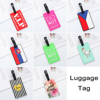 Pendant Personality ID Address Tags Luggage Tag Suitcase Label Baggage Claim