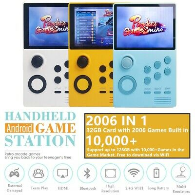 Handheld Android Game Console Pandora's Box Mini Retro Arcade Portable Console