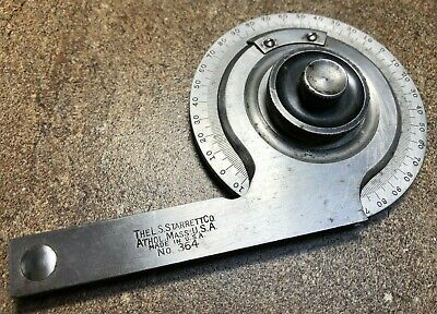 Starrett No. 364 Protractor, Good Used Condition, No Blade