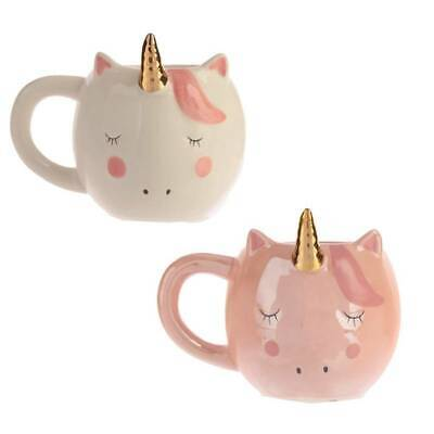 3D Unicorn Ceramic Coffee Mugs Hand Painted Novelty Cups Gifts Girls Lizzj