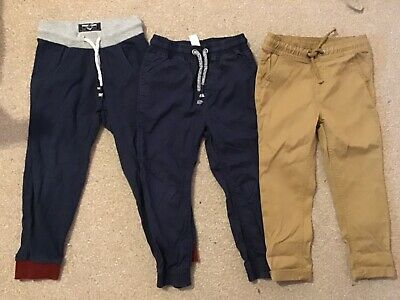 Bundle of 3 pairs of boys trousers - age 3-4 - NEXT M&S George
