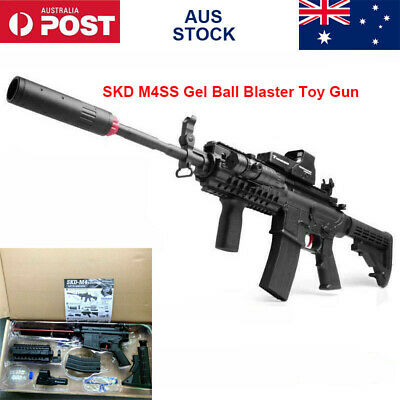 Nylon Electronic SKD M4SS Gel Ball Blaster Toy Gun Outdoor Mag-fed Toy AU Stock