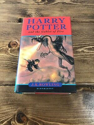 Harry Potter and the Goblet of Fire Hardback 1st First Edition 1st Print Errors
