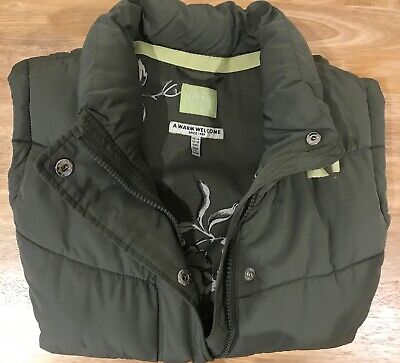 Joules - 'Eastleigh' Padded Gilet - Green - Size UK14 - Excellent Condition