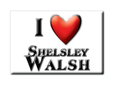 Shelsley Walsh (Eng) Fridge Magnet I Love Souvenir Uk England-32993