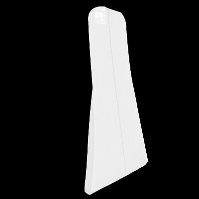 """Hoesh White 72"""" Long Zipped Bridal Gown Dress Clothes Cover Garment Bags"""