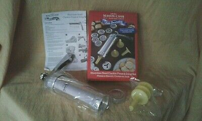 Mason Cash Stainless Steel Cookie Press & Icing Set