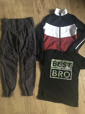 river island & Next Boys Clothes Bundle Age 10 Trousers Tops