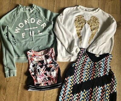 River Island Girls Top Bundle Age 11-12 4 Tops Clothes