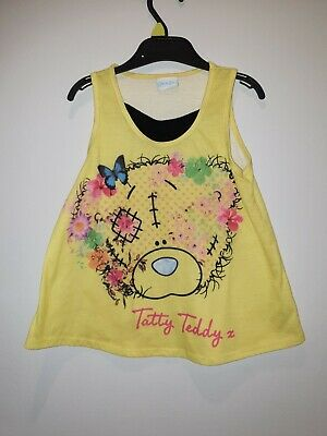 Girls Tatty Teddy Me To You Bear Summer top Age 5-6 Years