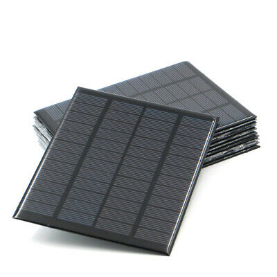 9V 12V 18V Solar Panel 1.5W- 20W Mini Solar Battery Cell Phone Charger DIY PV