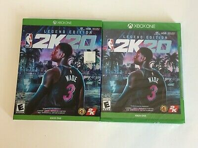 BRAND NEW FACTORY SEALED - NBA 2K20 Legend Edition - Xbox One - FREE SHIP !