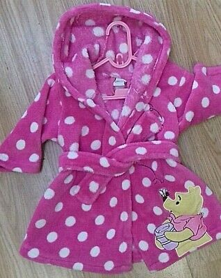 Baby Girls Dressing Gown 6-9 Months DISNEY