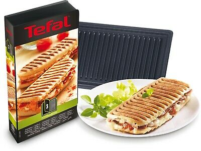 Tefal XA800312 Snack Collection Grill/Panini Maker Non Stick Plates Set