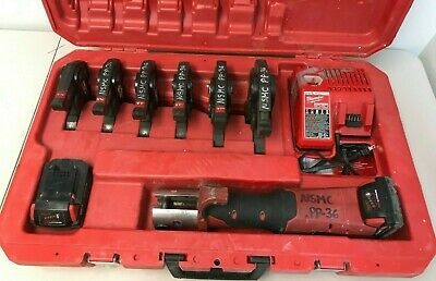 "Milwaukee 2773-20 M18 Force Logic  6 Jaws 1/2"" Through 2"" w/ Case"