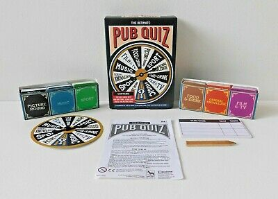 THE ULTIMATE PUB QUIZ Question & Answer Trivia Party Family Game by Paladone