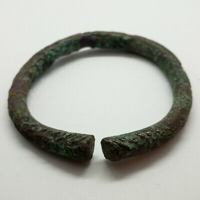 Bronze Art Massive Bracelet  / Ornament /   1500-800BC. Celtic Scythian Koban