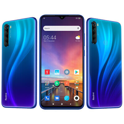 Xiaomi Redmi Note 8 Global Version 4+64GB Snapdragon 665 48MP Cams 4000mAh Blue
