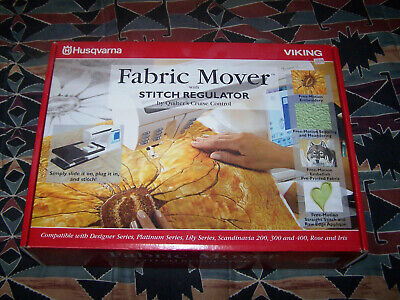 Husqvarna Viking Fabric Mover with Stitch Regulator Quilters Cruise Control NEW