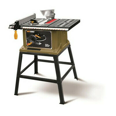 """Rockwell ShopSeries SS7202 10"""" 15 Amp Table Saw with Stand"""