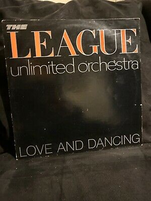 The League Unlimited Orchestra, Love and Dancing LP, 1982, good cond.