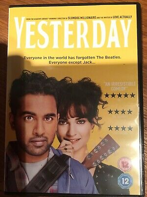 YESTERDAY DVD Himesh Patel Lily James - Watched once